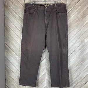Levi's 505 42 x 30 gray relaxed fit  jeans